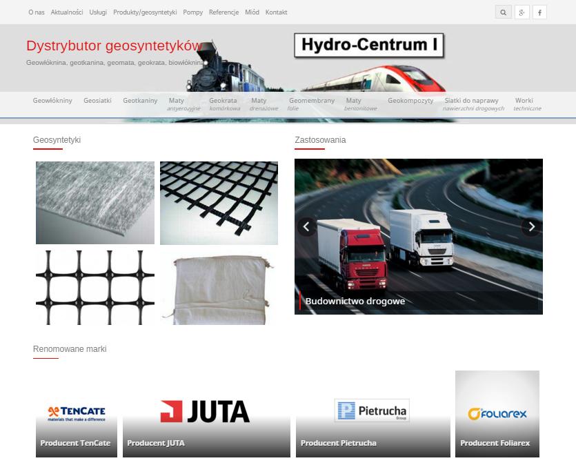 Hydro-Centrum Dystrybutor i producent geosyntetyków